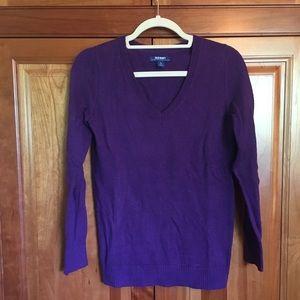Small Dark Purple Comfy Sweater